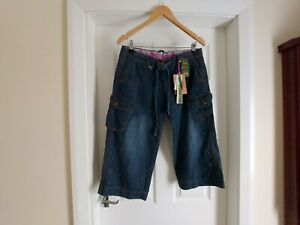 "Jeans Breeches ""Denim CO"" Casual Wear Dark Blue Colour  Size: 12 (UK) Eur 40"