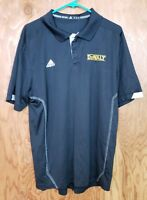 Adidas Men's Golf Shirt Size XL Black DeWalt  Polo Shirt