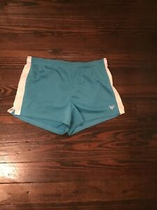 Justice VGUC Girl's Turquoise Elastic Waist Athletic Shorts 18