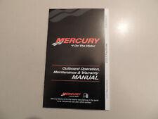 2011 Mercury 2.5 / 3.5 PS 1Zyl-4Takt owner s manual Betriebs anleitung Handbuch