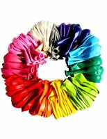 "Assorted Colours   12""  Plain Coloured Latex Balloons  pack of 12"