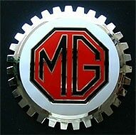 MG Owner Car Grille Badge NEW!