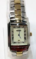 Authentic Rotary Men's GB42830/08 Japan Quartz Analog SILVER/GOLD Watch NEW!