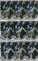 LOT (17) 2019 BOWMAN CHROME & BOWMAN RC MACKENZIE GORE SAN DIEGO PADRES - 5245