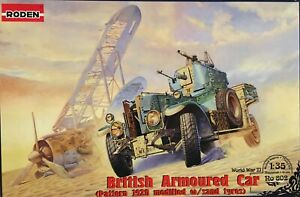 BRITISH ROLLS ROYCE ARMOURED CAR PATTERN 1920 WITH SAND TYRES 1/35 SCALE