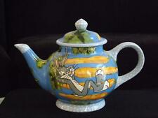 Droll Designs Bugs Bunny Teapot Warner Brothers COA 54/300 Ltd Edt EXC Large