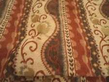 Large Pair of Heavy Tapestry Lined Curtains