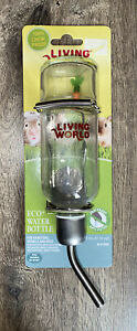 Living World Eco+ Water Bottle For Hamsters Gerbils And Mice; 177ml BNIP
