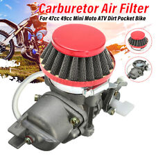 Carburetor Carb Air Filter Stack For 47cc 49cc Mini Moto ATV Dirt Pocket Quad