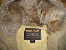 Edle klassische Woolrich Winterjacke Felljacke Pelzjacke Gr. 38/40