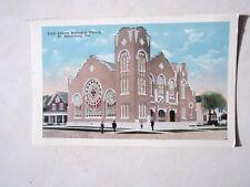 Vintage Post Card St. Petersburg, FLa  First Avenue Methodist Church