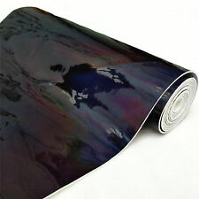 Hologram Mirrored Vinyl Faux Leather Material Fabric Metallic Holographic Crafts