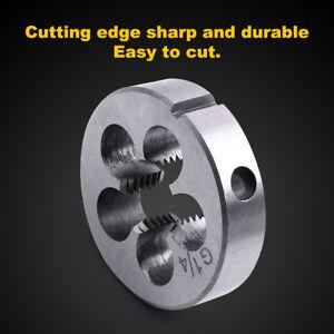 HSS Threading Circular Die Pipe Thread Tool Bore Diameter G1/2  /20.955 mm