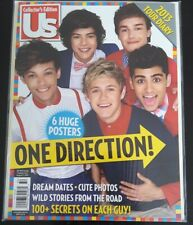 US Magazine One Direction 1D Collectors Edition 6 Huge Posters 2013 - Brand New!
