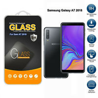Tempered Glass Screen Protector For Samsung Galaxy A7 2018