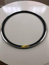 NOS Velocity Deep V 650C tubular Rim 18 Hole Grey 19x30mm Road Track Fixed
