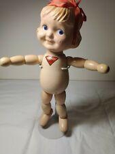 VINTAGE Margie by Joseph Kallus of Kewpie Fame 1929 Wood jointed body Cameo Doll