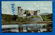 OLD POSTCARD DUNVEGAN CASTLE ISLE OF SKYE SCOTLAND NR CLAIGAN ROSKHILL SKINIDIN