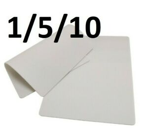 Double Sided White Tattoo Practice Fake Skin 20 x15 use Ink Pigment 1/5/10 pcs