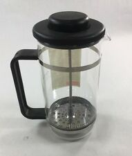 Bodum French Press 4 Cup, Black Handle Top, Stainless Steel Coffee, Expresso