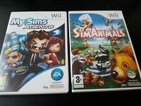 SimAnimals & My Sims Agents | Nintendo Wii Game | Boxed Complete | PAL UK