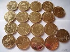 Poland 2 ZL Complete Set 18 Coins 2009 NG (Billig)