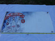 "VINYL BANNER MAN CAVE SMIRNOFF ICE ROLL LIKE A ROCK STAR 2007 70"" X 34"""