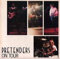 CHRISSIE HYNDE / PRETENDERS 1981 U.S. TOUR CONCERT PROGRAM BOOK / NMT 2 MINT