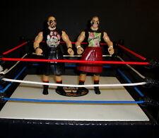 WWE HEADBANGERS CUSTOM FIGURE  jakks classic legend WCW wwf