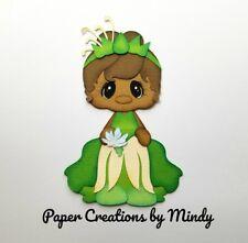 CRAFTECAFE MINDY DISNEY Princess Tiana premade paper piecing scrapbook DIECUT