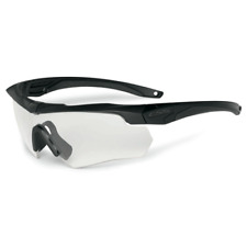Eye Safety Systems ESS Crossbow ONE Sunglasses Black w/ Clear Lens 740-0615
