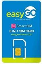 Easygo Wireless Sim Card - At&T Network
