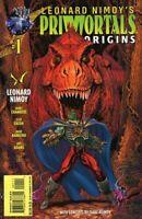 Leonard Nimoy's Primortals Origins #1 NM 1995 Tekno Bagged w/ Other Comic