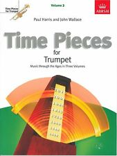 Time Pieces for Trumpet Vol 2 - Harris & Wallace - ABRSM Gr 3-4 - 9781854728654