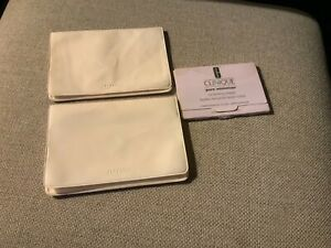 Shiseido and clinque oil control blotting paper packs