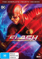 The Flash : Season 4 (DVD, 5-Disc Set) NEW