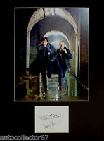 SHERLOCK signed autograph PHOTO DISPLAY Benedict Cumberbatch Martin Freeman