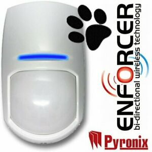 NEW PYRONIX ENFORCER KX10DP-WE WIRELESS PIR 2 WAY PET FRIENDLY DUAL FREQUENCY