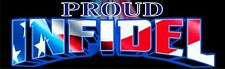 Proud Infidel Political Bumper Sticker DZ101