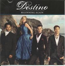 Destino Beginning Again CD 2011 Shoreline Records Signed Autographed