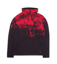 Brand new 2XL AKOO Sweatshirt Red/Black, long sleeve w/tags *Great Buy* MSRP$109
