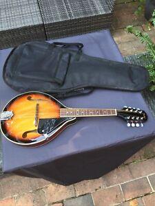 Fender FM-100 Acoustic 8 Strings Mandolin with Soft Case