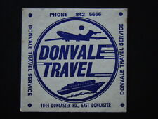 DONVALE TRAVEL SERVICE 1044 DONCASTER RD EAST 8425666 COASTER