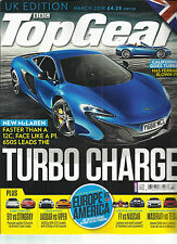 BBC  TOP GEAR, UK EDITION     MARCH, 2014   ( CALIFORNIA GOES TURBO )