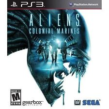 Aliens : Colonial Marines 2013 PLAYSTATION 3 Game PS3 (No Manual) vg