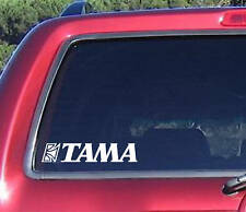 Large TAMA Bass Drum Logo Decal Sticker Truck laptop