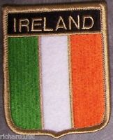Embroidered International Patch National Flag of Ireland NEW bunting
