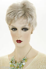 Short Blonde Grey Brunette Red Straight Wavy Layered Wig Chic Salon Cut Pixie