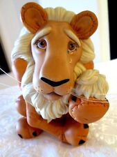 "ASHTON-DRAKE GALLERIES WIZARD OF OZ  Porcelain ""THE COWARDLY LION"" TV-992 EUC"