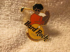 Hard Rock Cafe Pin Cabo San Lucas Yellow Logo with Golfer (1509)